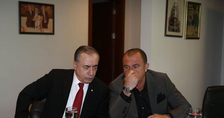 Galatasaray'da büyük gerilim devam ediyor! Mustafa Cengiz ve Fatih Terim...