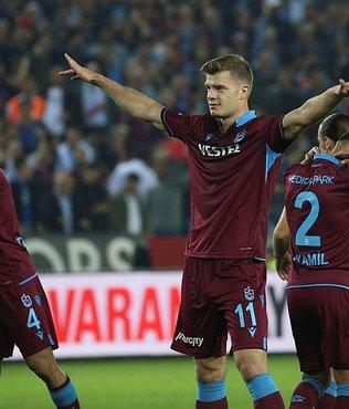 Trabzonspor hem atıyor hem yiyor