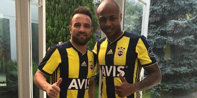 Valbuena ve Ayew formayla poz verdi
