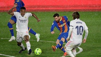 Son dakika spor haberi: Lionel Messi Cristiano Ronaldo'nun olmadığı 'El Clasico'larda skor üretemedi