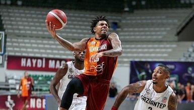 Gaziantep Basketbol 68-77 Galatasaray Nef (MAÇ SONUCU - ÖZET)