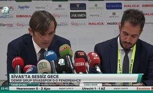 """Fenerbahçe Teknik Direktörü Philip Cocu: """"Şampiyonluk konuşacak durumda değiliz"""""""