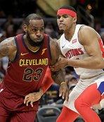 Cavaliers, Pistons'ı son çeyrekte devirdi