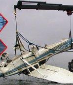 Uçak enkazındaki ceset Sala'ya ait! İşte ilk görüntüler...