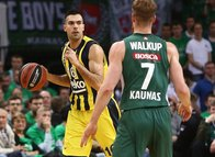 Zalgiris Kaunas - Fenerbahçe Beko maçından kareler