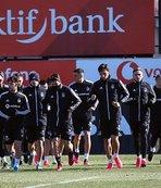 Beşiktaş iki eksikle çalıştı!