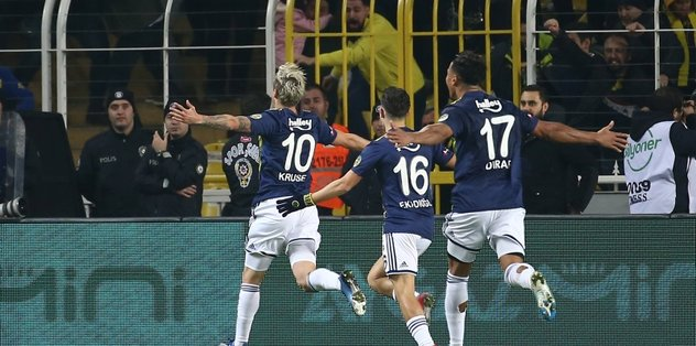 Fenerbahçe 2-0 Başakşehir | MAÇ SONUCU