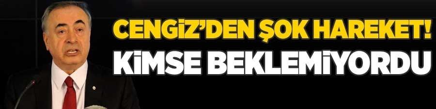 Mustafa Cengiz'den şok hareket! Kimse bunu beklemiyordu