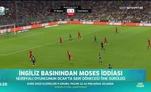 İngiliz basınından Moses iddiası