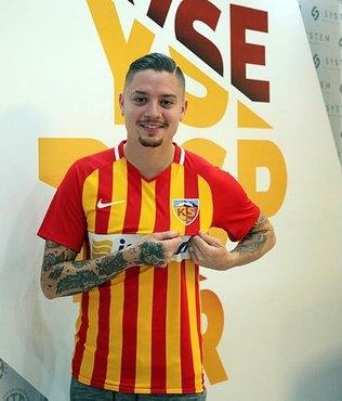 Kayserispor'a Brezilyalı orta saha oyuncusu
