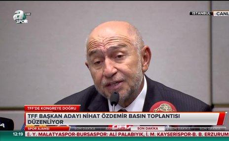 """Nihat Özdemir: """"VAR sistemindeki hataları düzelteceğiz"""""""