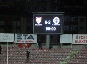 F.Bahçe Bolu'dan 6 gol yedi sosyal medya yıkıldı!