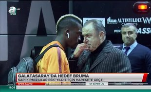 Galatasaray'da hedef Bruma