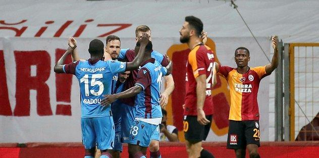 Trabzonspor avantaj sağladı - Futbol -