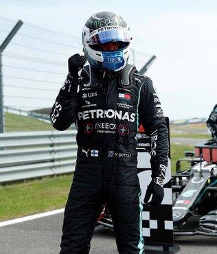 Büyük Britanya'da pole pozisyonu Valtteri Bottas'ın