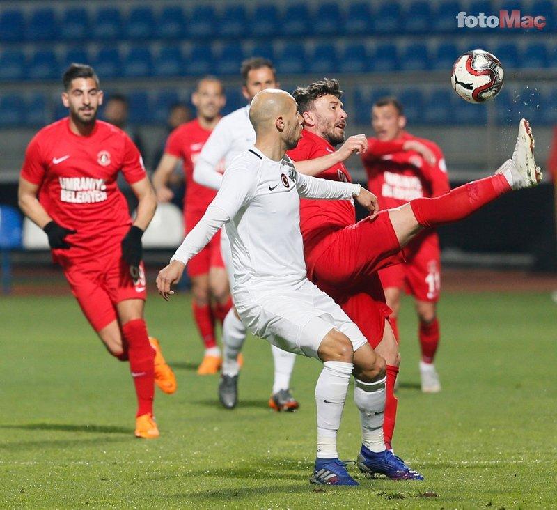 Ümraniyespor - Akhisarspor maçından kareler