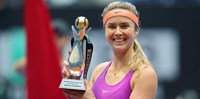 Şampiyon Elina Svitolina oldu