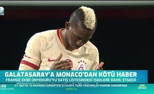 Galatasaray'a kötü haber geldi! Onyekuru...