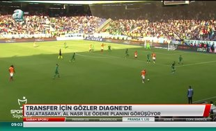 Galatasaray'da gözler Diagne'de