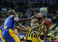 Fenerbahçe - Maccabi Fox maçından kareler...
