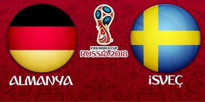 Almanya - İsveç maçı ne zaman, saat kaçta oynanacak ve hangi kanalda yayınlanacak?