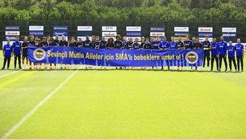 Fenerbahçe'den SMA'lı hastalara destek!