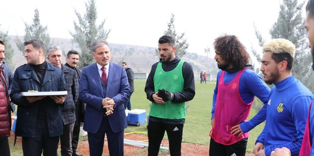 Yeni Malatyaspor'da maçı hazırlıkları