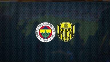 Fenerbahçe - Ankaragücü maçı ne zaman, saat kaçta ve hangi kanalda canlı yayınlanacak?   Süper Lig
