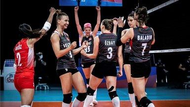 Son dakika spor haberleri: A Milli Kadın Voleybol Takımı'mız Milletler Ligi'nde Dörtlü Final'de!