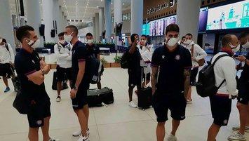 Galatasaray'ın rakibi İstanbul'a geldi