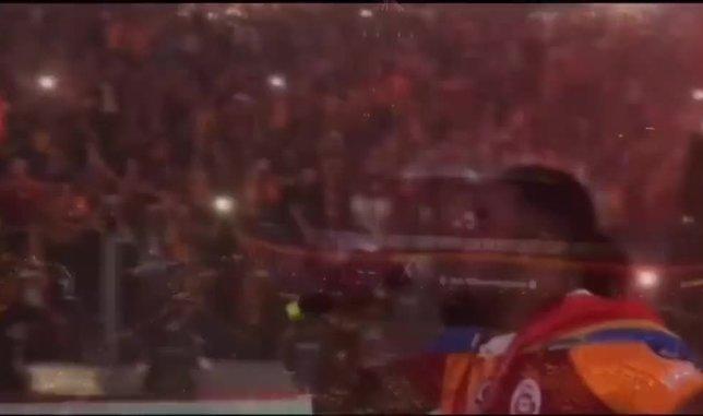 Galatasaray Luyindama transferini böyle duyurdu!