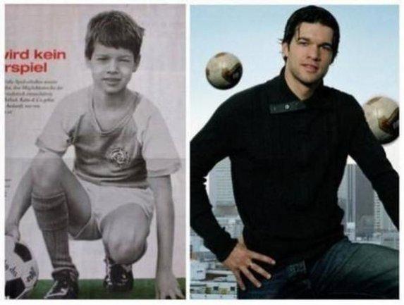 Yıldız futbolcuların gençlik halleri...