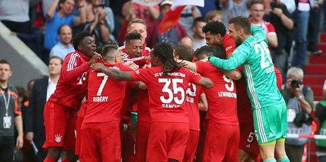 Münih yine şampiyon