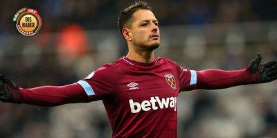 West Ham Javier Hernandez'i takasta kullanacak