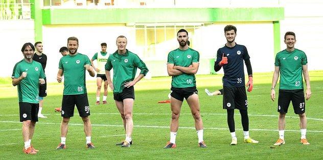 Konyaspor Gençlerbirliği maçı hazırlıklarına devam etti - Basketbol Ligleri - Haberler -