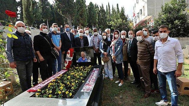 Trabzonspor'un efsane futbolcusu Kadir Özcan anıldı #
