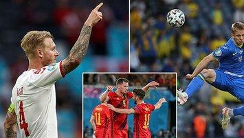 Bu yıldızlar EURO 2020'de savunma dersi verdi