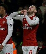 Arsenal, Ramsey ile kazandı
