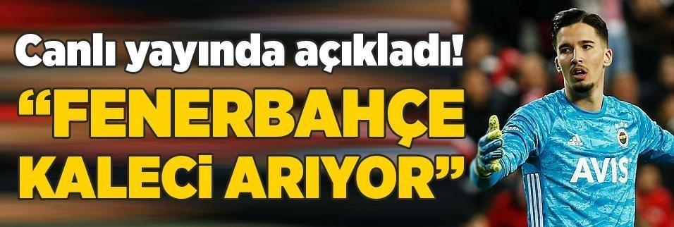 canli yayinda acikladi fenerbahce kaleci ariyor 1596954161374 - Fenerbahçe'de merak edilen soru cevap buldu! Yıldız isim transfer oluyor mu? Resmi açıklama