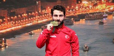 Ömer Faruk Ateş Avrupa şampiyonu