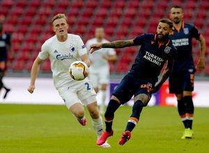 Kopenhag - Başakşehir maçından kareler...