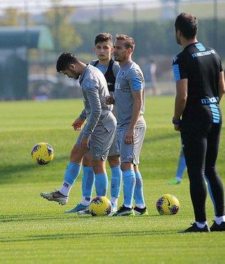Trabzonspor'da Sturridge ve Ekuban ayrı çalıştı