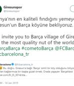 """Barcelona'dan gelen selam """"Barça köyü""""nü mutlu etti"""
