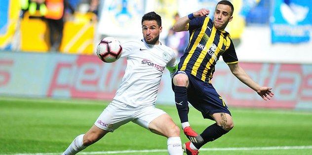 Konyaspor 10 maçtır galibiyete hasret