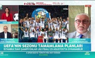 """Böyle açıkladı! """"Maçlar İstanbul'da oynanabilir"""""""