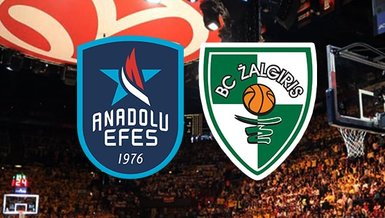 Anadolu Efes Zalgiris | CANLI THY EuroLeague maçı