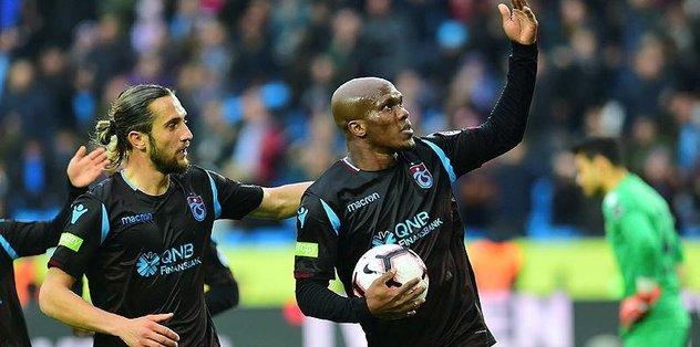 Trabzonspor'da Nwakaeme daha ne yapsın!