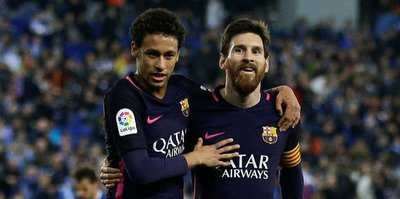 Barça, galibiyet serisini sürdürdü