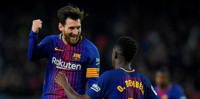 Lionel Messi, rekorlara doymuyor