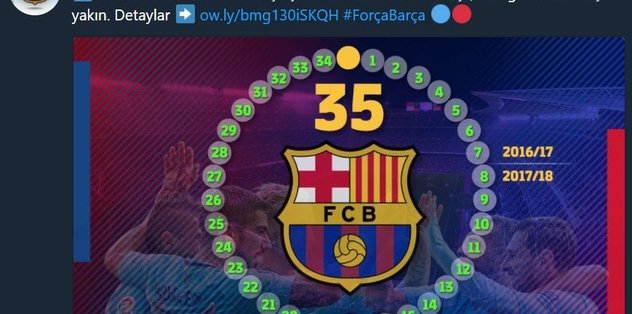 Barcelona'dan BJK paylaşımı